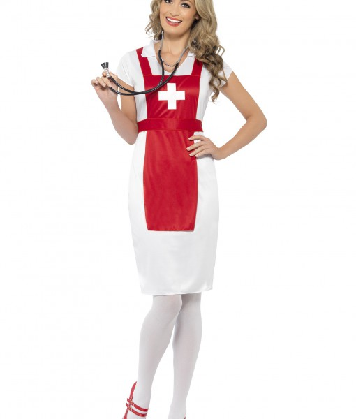 Womens A & E Nurse Costume
