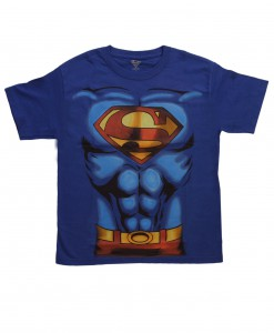 Boys Superman Costume T-Shirt