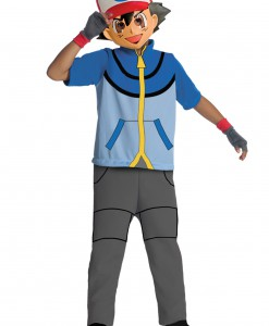 Child Pokemon Ash Costume