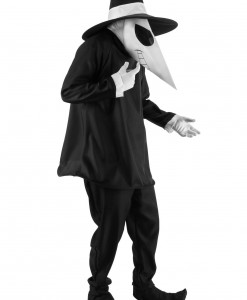 Adult Black Spy vs Spy Costume