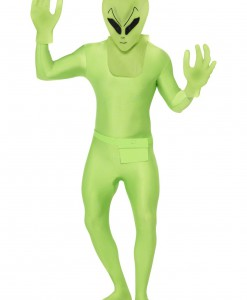 Green Alien Suit