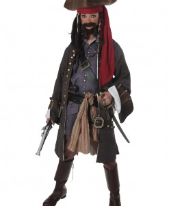 Teen Realistic Caribbean Pirate Costume