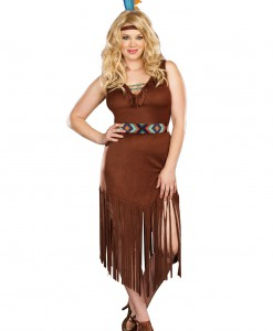 Plus Size Mystic Indian Maiden Costume