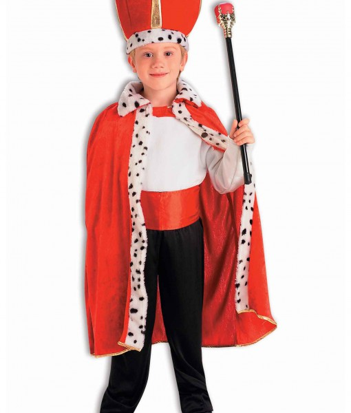 Child King Robe and Crown Set