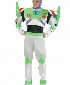 Adult Deluxe Buzz Lightyear Costume
