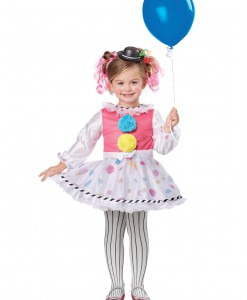 Toddler Cutsie Clown Costume