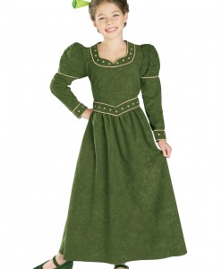Deluxe Child Princess Fiona Costume