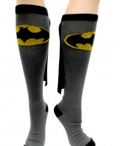Batman Cape Socks
