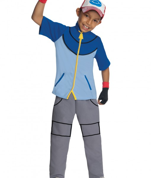 Boys Deluxe Pokemon Ash Costume