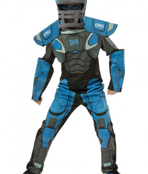 Child Cleatus Fox Sports Robot Costume