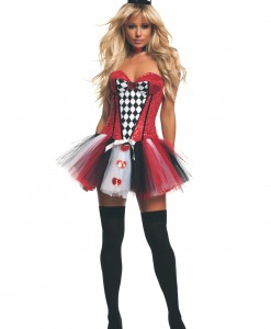 Women's Feisty Queen of Hearts Costume