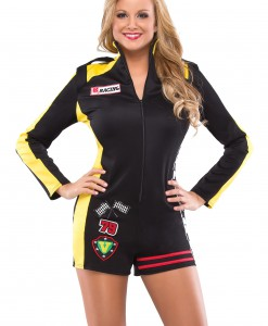 Womens Race Car Girl Costume