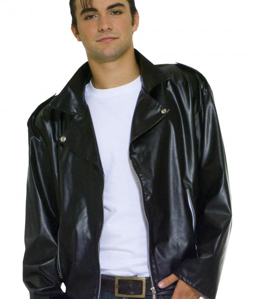 Adult Plus Size Greaser Jacket  sc 1 st  Halloween Costumes & Adult Plus Size Greaser Jacket - Halloween Costume Ideas 2018