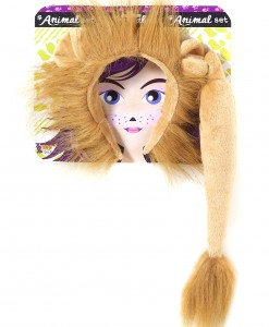 Lion Ears and Tail Kit