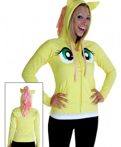 My Little Pony Fluttershy Face Hoodie