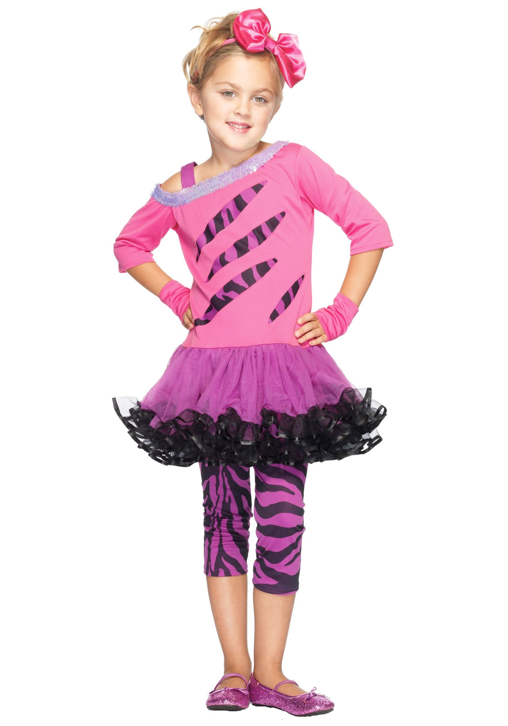 Halloween Rockstar.Girls Retro Rockstar Costume