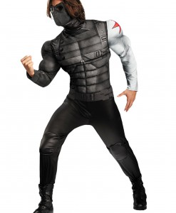 Adult Winter Soldier Classic Muscle Costume