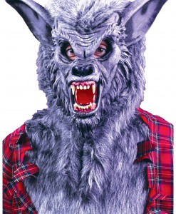 Grey Werewolf Mask