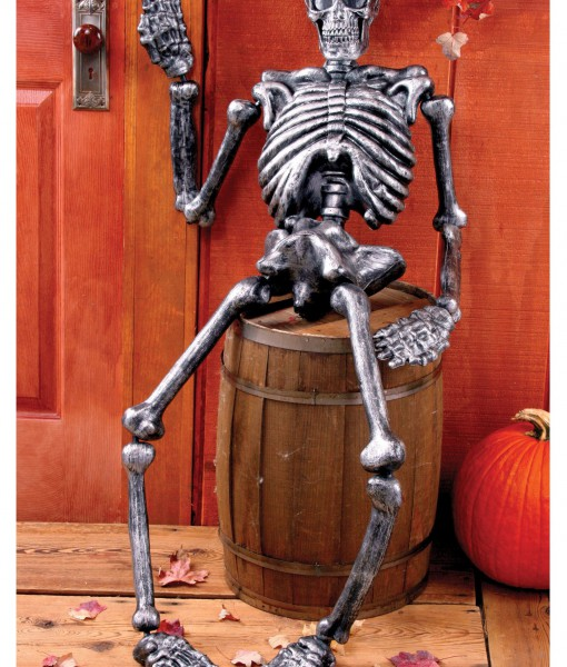 5 FT Metallic Skeleton