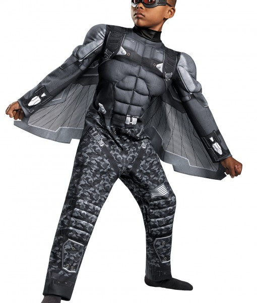Boys Falcon Classic Muscle Costume