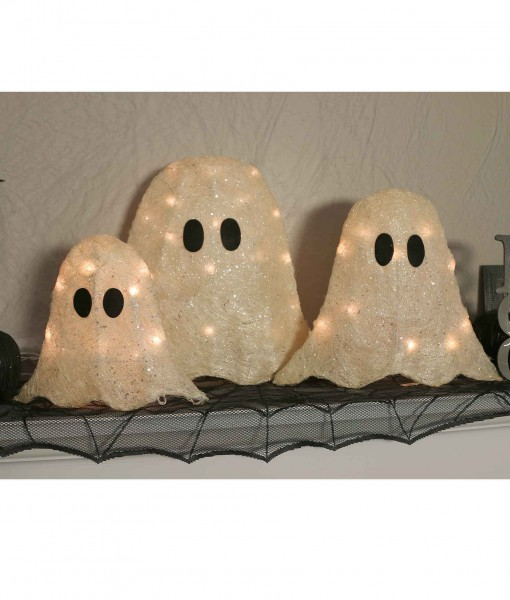 12/16/19 Set of Three LED Ghosts