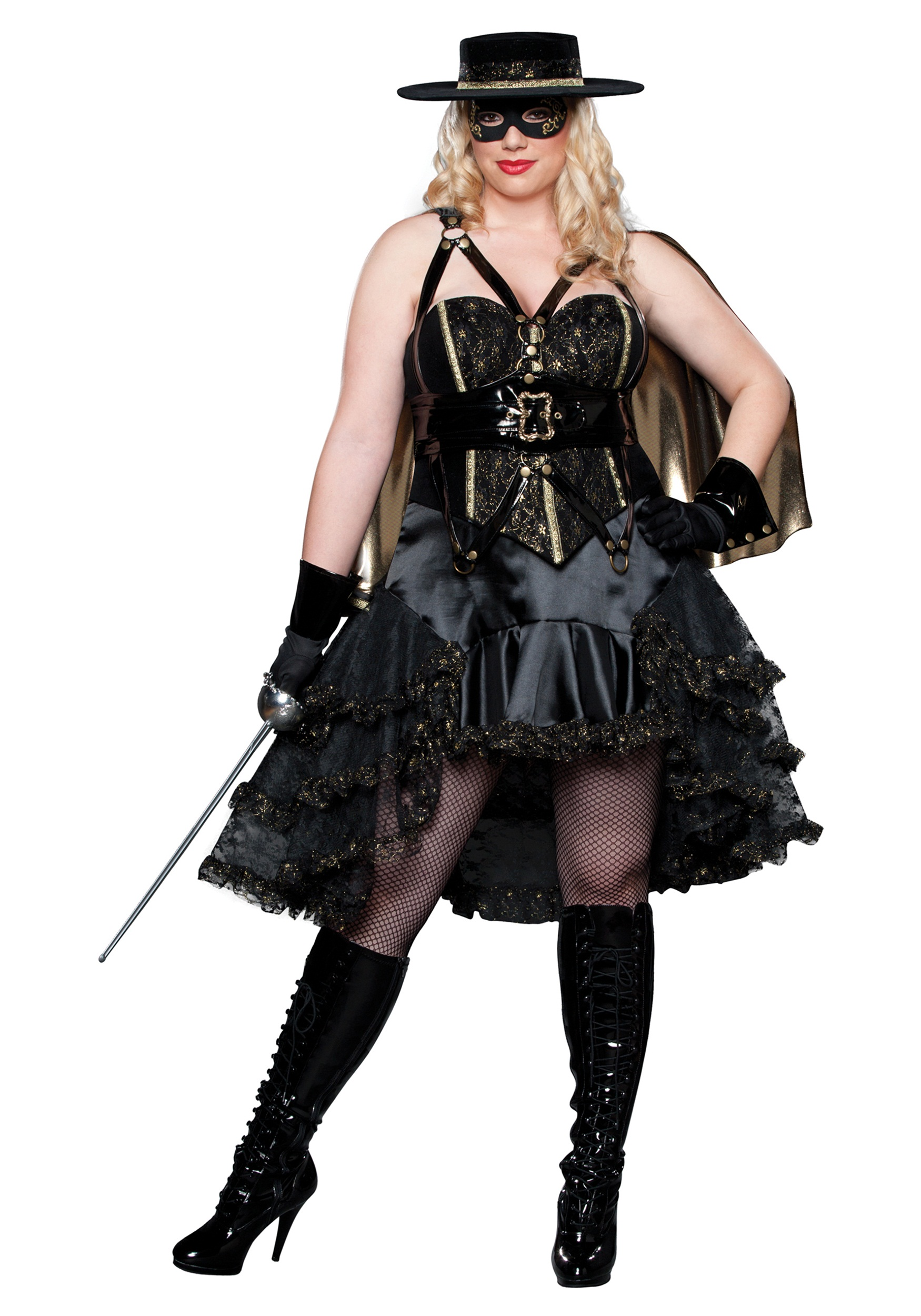 Plus Size Beautiful Bandida Costume - Halloween Costume Ideas 2016