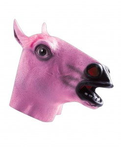 Pink Horse Mask