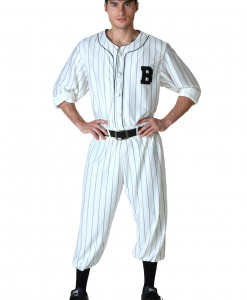Plus Size Vintage Baseball Player