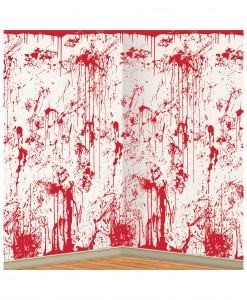 Bloody Wall Backdrop