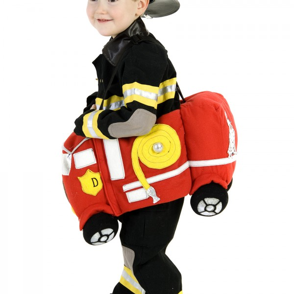 Ride in a Fire Truck Costume - Halloween Costume Ideas 2016