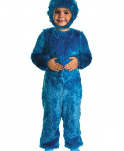 Toddler Furry Cookie Monster Costume