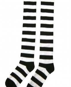 Striped Witch Socks