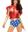 Wonder Seductress Superhero Costume