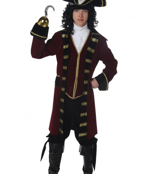 Teen Captain Hook Costume