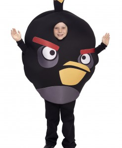 Kids Black Angry Bird Costume