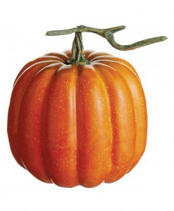 6.5 inch Weighted Pumpkin with Vine