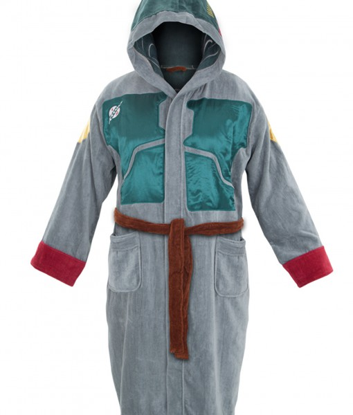 Boba Fett Adult Hooded Bath Robe