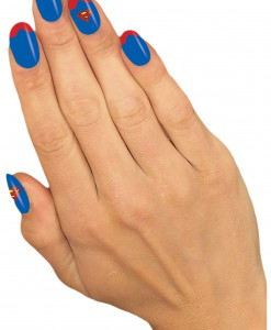 Supergirl Nail Strips