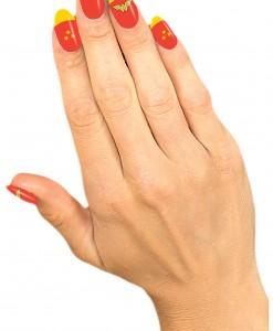 Wonder Woman Nail Strips