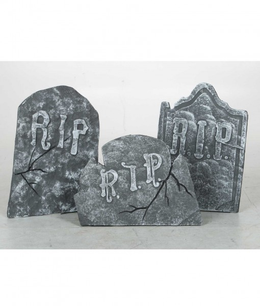Crooked Stone Tombstone Set
