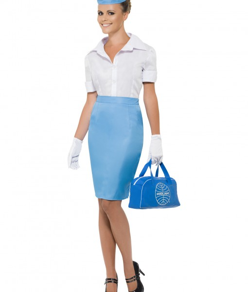 Women's Pan Am Flight Attendant Costume