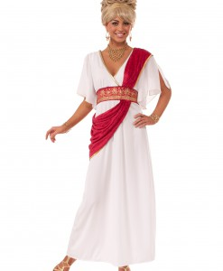 Grecian Gown w/ Red Sash
