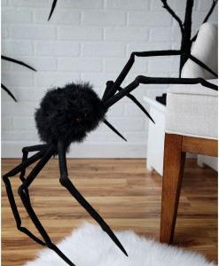 Poseable 26 Large Furry Spider