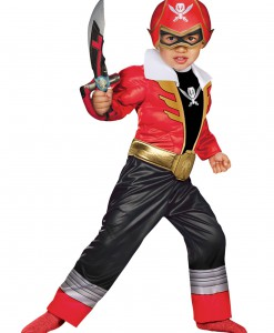 Toddler Super Megaforce Red Power Ranger Muscle Costume