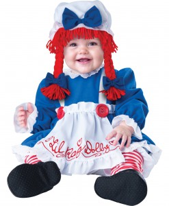 Infant Li'l Rag Doll Costume