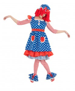 Adult Miss Raggedy Ann Costume