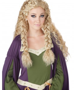 Blonde Viking Princess Wig