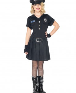 Girls Playtime Police Costume