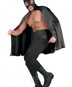Deluxe Black Superhero Cape