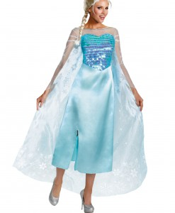 Elsa Adult Deluxe Costume  sc 1 st  Halloween Costumes & Frozen Costumes - Halloween Costume Ideas 2016